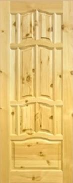 Деревянные двери (массив сосны)