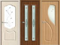 Двери с ПВХ-пленкой